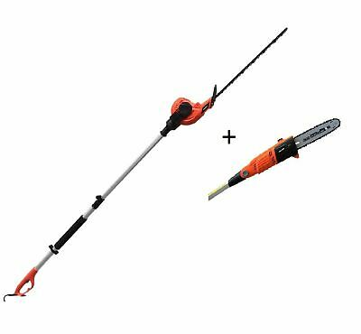 £129.99 • Buy Long Reach Hedge Trimmer Pole Chainsaw Pruner Telescopic Electric Garden Lopper