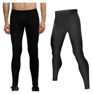 $8.99 • Buy  Men's Compression Gym Tights Base Layer Fitness Trousers Sports Running Pants