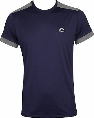 £10.99 • Buy More Mile Action Mens Running Top Navy Short Sleeve T-Shirt Gym Training Workout