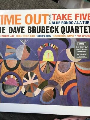The Dave Brubeck Quartet 'Time Out' 180gram Repress Black Vinyl LP NEW & SEALED • 12.49£