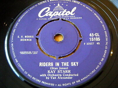 Kay Starr - Riders In The Sky  7  Vinyl • 7.49£