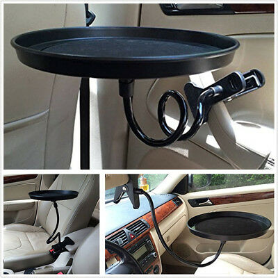 $13.40 • Buy Universal Car Food/Drink 360° Swivel Mount Cup Holder Travel Table Eating Tray