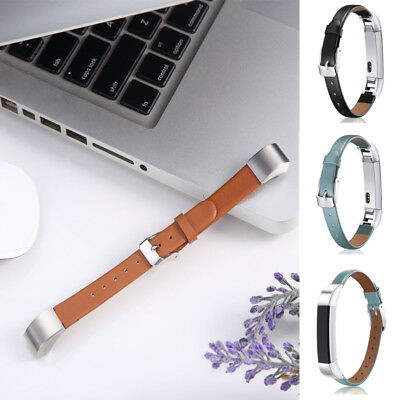 AU14.71 • Buy For Fitbit Alta HR Watch UB Luxury Leather Replacement Wrist Band Strap Bracelet
