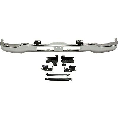$224.45 • Buy Front Bumper For 2003-2007 GMC Sierra 1500 Chrome Steel With Mounting Bracket(s)