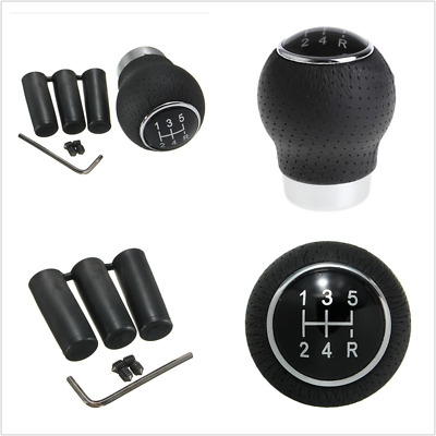 $ CDN22.20 • Buy 5 Speed Aluminum Manual Car Gear Shift Knob Shifter Lever Auto Replacement Parts
