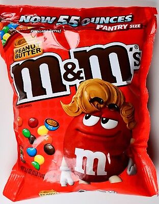 $24.58 • Buy M&M's Peanut Butter Milk Chocolate Candies Pantry Family-Size