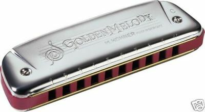 $48.99 • Buy Hohner Golden Melody Harmonica - Authorized USA Dealer - Pick Your Key!