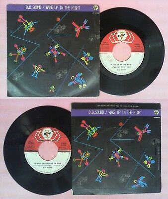LP 45 7'' D.D.SOUND Wake Up In The Night They Invented The Disco No Cd Mc*dvd • 3.45£