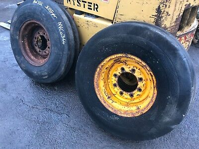 Ford Digger 13/6 550 555 4550 Front Rims & Tyres NVC 0364 Excavator Tractor • 155£