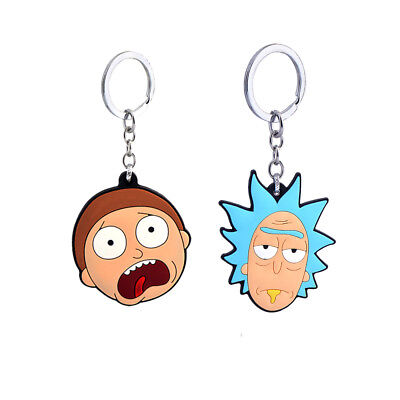 £3.99 • Buy Brand New Rick And Morty Rubber Keyring Keychain 2 Styles
