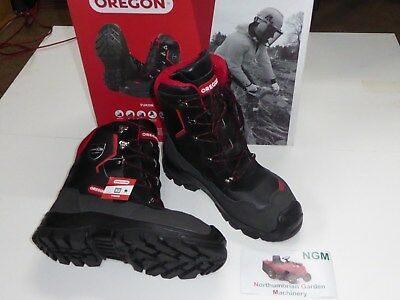 Brand New Oregon Yukon Leather Chainsaw Safety Boots Class 1 (20m/s) All Sizes  • 110£