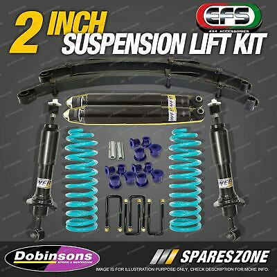 AU1050 • Buy 2  50mm Lift Kit HD Strut Dobinsons Coil EFS Leaf Springs For Triton ML MN
