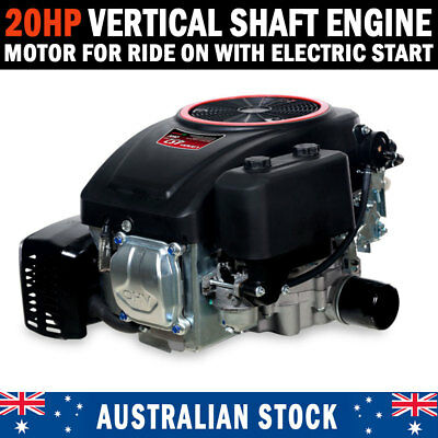 AU720 • Buy 20HP Vertical Shaft Petrol Engine Ride On Mower Motor With Electric Start