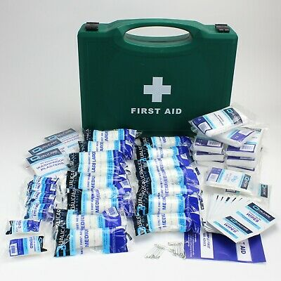 £13.49 • Buy HSE First Aid Kit In A Box & Refills For 1 To 50 Person Kits, Wipes, Plasters