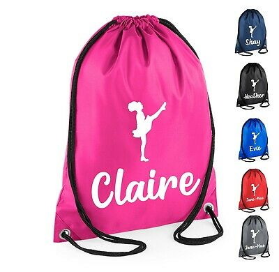 $8.19 • Buy Personalised Name Irish Dancer Bag Drawstring Bag Dance Club Dancing Custom Name
