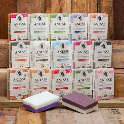FRENCH SOAP, SAVON DE MARSEILLE - 100% ORGANIC DONKEY MILK SOAP -125g -Dual Face • 3.25£