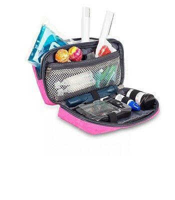 Elite Cooler Bag / Cool Pouch For Insulin And Diabetic Kit Organiser - Pink • 19.99£