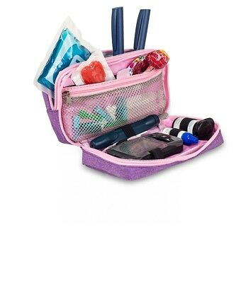 Elite Cooler Bag / Cool Pouch For Insulin And Diabetic Kit Organiser - Lilac • 19.99£