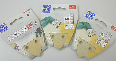 Paper Abrasive For Sander 5pz Base Velcro 96mm - B&d Bosch Metabo Skil • 3.92£