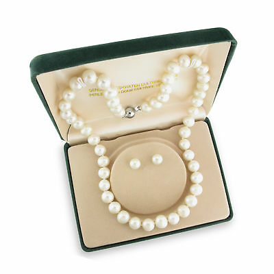 View Details Amour Silvertone White Cultured Freshwater Pearl Jewelry Set (8-10 Mm) • 20.99$ CDN