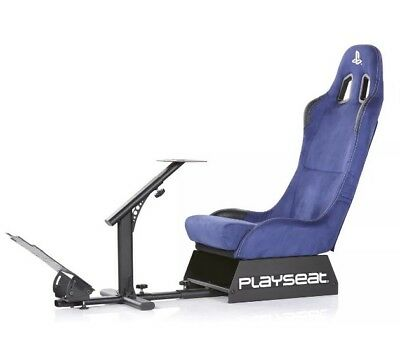 $449.99 • Buy Playseat Evolution Playstation Blue Racing Simulator Game Chair Seat