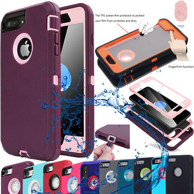 AU9.40 • Buy Tough Armor Heavy Duty Shockproof Case Cover For Apple IPhone X 7 8 6 6s Plus