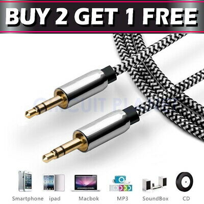 £2.99 • Buy 1M - 3.5mm Jack Plug Aux Cable Audio Lead For To Headphone MP3 IPod PC Car GOLD