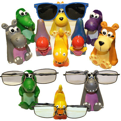 Reading Glasses Sunglasses Holder Specs Nose Rack Novelty Stand For All Ages • 11.36£