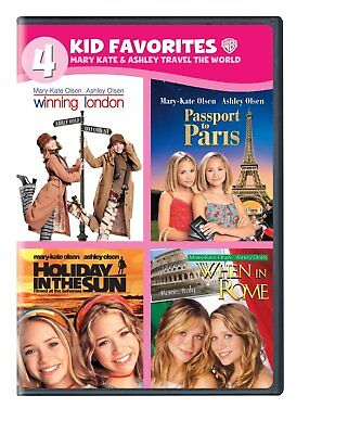 £16.28 • Buy Mary-Kate And Ashley Olsen Winning London Passport To Paris When In Rome R1 DVD