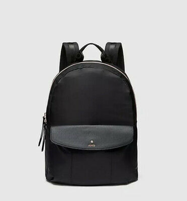 AU104 • Buy Mimco Vista Backpack Black Rose Gold• New With Tags