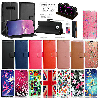 $ CDN5.87 • Buy FOR Samsung Galaxy S9 S8 S7  S6 S5 Plus NEW LEATHER WALLET BOOK Phone Case Cover