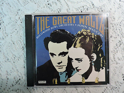 THE GREAT WALTZ: John Mauceri / Hollywood Bowl Orchestra CD - Philips • 3.73£