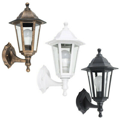 Polypropylene Outdoor Garden Wall Light Lantern Coach Lighting Vintage IP44 Lamp • 19.99£
