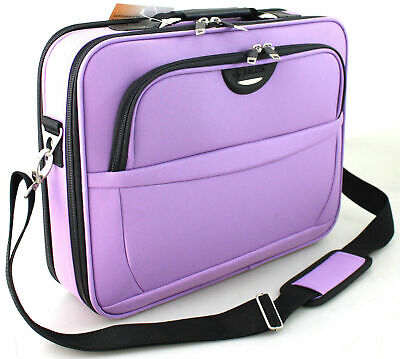 New Ladies 16  Laptop Bag Notebook Carry Case Briefcase Shoulder Bag UK SELLER • 22.95£