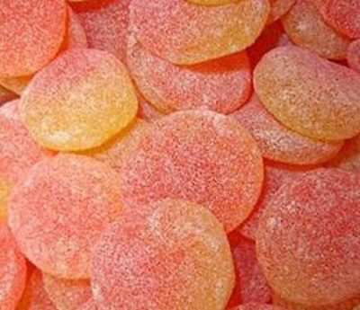 HARIBO  GIANT PEACH SLICES  Ideal For Party Bags, Wedding, Christening,  • 6.95£