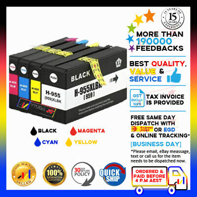 AU45.50 • Buy  Any NoN-OEM 955XL Ink Cartridges For HP Officejet Pro 7740 8210 8710 8730 8740