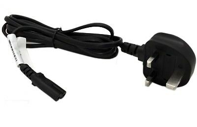 1.8m Figure Of 8 Mains Cable / Power UK Lead Plug Cord IEC C7 Fig FOR PRINTERS • 3.99£