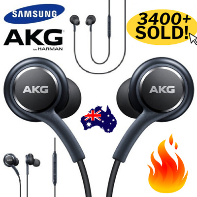AU7.85 • Buy 🔥 SAMSUNG AKG Earphones Earbuds S8 + Note 8 S9 Galaxy Mic HEADSET Headphones