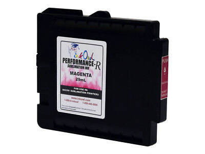 £27.16 • Buy 29mL InkOwl MAGENTA Performance-R Sublimation Cartridge For RICOH GXe3300