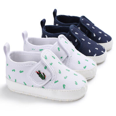 Newborn Baby Boy Girl Pram Shoes Infant Casual Shoes Toddler Pre Walker Trainers • 4.69£