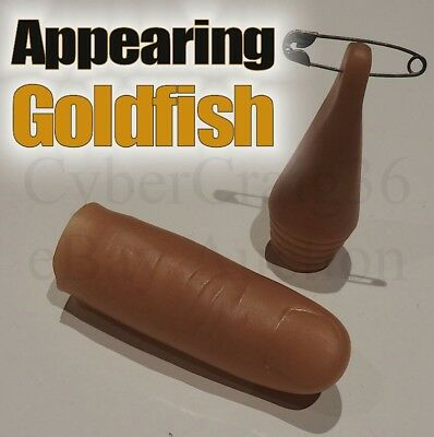 £4.90 • Buy Appearing Goldfish Thumb Tip Fish Water Liquid Production Magic Trick Holdout 1