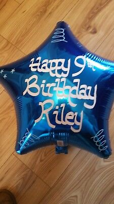 £2.99 • Buy Personalised Helium Foil Balloon Christening, Birthday, Any Event