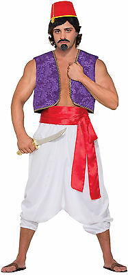 £7.07 • Buy Deluxe Red Sash Belt Aladdin Pirate Sash Prince Royal Costume Accessory 130in