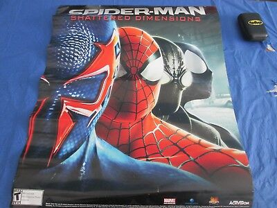 AU37.68 • Buy Spider-Man Shattered Dimensions 22 X 28 Promo Poster Video Game PS3 XBox NYCC