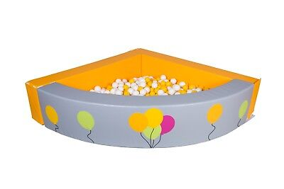 Corner Ball Pit Soft Play Ball Pool Children Commercial Quality Durable PVC • 419.99£