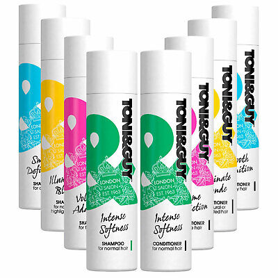 £9.99 • Buy Toni&Guy Shampoo & Conditioner, For All Hair Type, 250ml