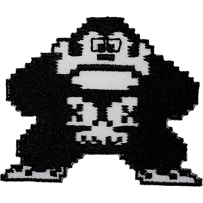 Donkey Kong Patch Iron On Sew On Embroidered Badge NES 8 Bit Video Game Applique • 2.79£