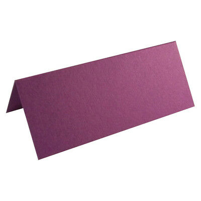 £4 • Buy 50 Cadbury Purple Wedding Table Place Cards, Perfect For All Parties