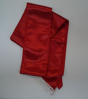£4.24 • Buy Red Sash Pirate Sash Prince Royal Princess Queen Belt Costume Accessory 80in