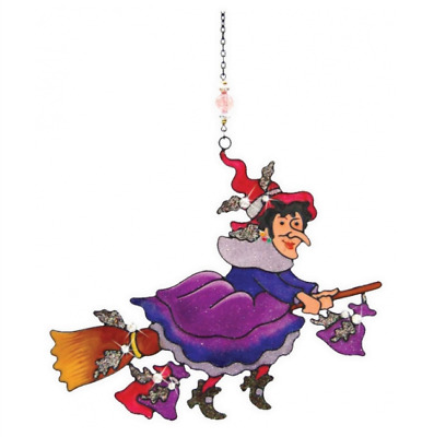 Witches Of Pendle - Witch Light Catcher - Purple (WOPLCWITCPURP) • 12.95£